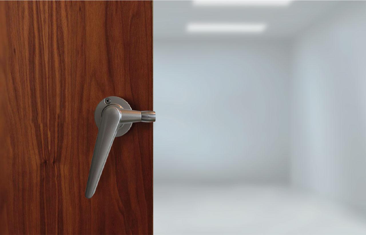 ... STC-42-Door-Handle & STC 42 Soundproof Door | Aural-Aid